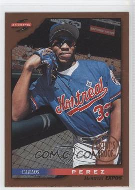 1996 Score Dugout Collection Artist's Proof #83 - Carlos Perez