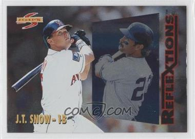 1996 Score Reflextions #5 - J.T. Snow, Don Mattingly