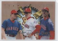 Ivan Rodriguez, Will Clark, Juan Gonzalez