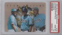 Andre Dawson, Charles Johnson, Gary Sheffield [PSA 10]