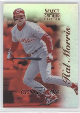 1996 Select Certified Edition - [Base] - Mirror Red #89 - Hal Morris /90