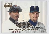 Barry Bonds, Jay Buhner