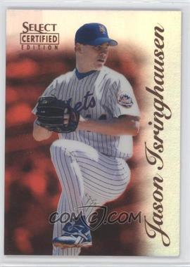 1996 Select Certified Edition Mirror Red #16 - Jason Isringhausen