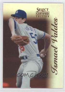 1996 Select Certified Edition Mirror Red #52 - Ismael Valdes /90