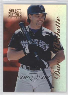 1996 Select Certified Edition Mirror Red #71 - Dante Bichette /90