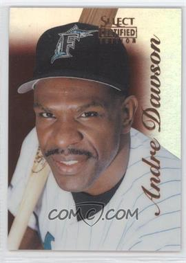 1996 Select Certified Edition Mirror Red #96 - Andre Dawson /90