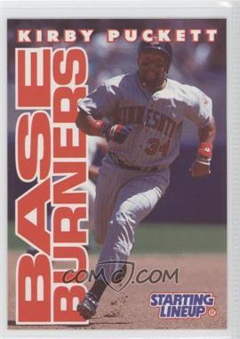 1996 Starting Lineup Cards - [Base] #34 - Kirby Puckett