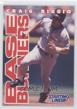 1996 Starting Lineup Cards - [Base] #7 - Craig Biggio