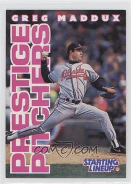 1996 Starting Lineup Cards #31 - Greg Maddux