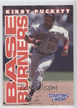 1996 Starting Lineup Cards #34 - Kirby Puckett