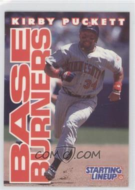1996 Starting Lineup Cards #34 - Kirby Puckett