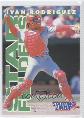 1996 Starting Lineup Cards #7 - Ivan Rodriguez