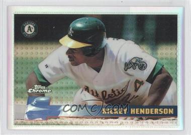 1996 Topps Chrome Refractor #159 - Rickey Henderson