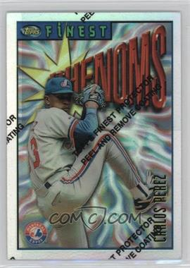 1996 Topps Finest - [Base] - Refractor #109 - Carlos Perez