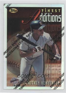 1996 Topps Finest Refractor #229 - Rickey Henderson