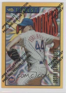1996 Topps Finest Refractor #51 - Jason Isringhausen