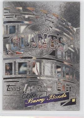 1996 Topps Laser [???] #S2 - Barry Bonds