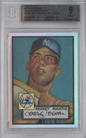 Mickey Mantle 1952 Topps [BGS 9]