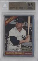 Mickey Mantle 1966 Topps [BGS 9.5]