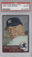 Mickey Mantle (1953 Topps) [PSA 9]