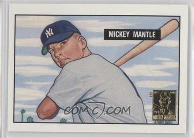 1996 Topps Mickey Mantle Commemorative Reprints #1 - Mickey Mantle (1951 Bowman)