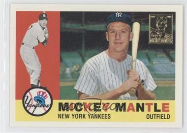 1996 Topps Mickey Mantle Commemorative Reprints #10 - Mickey Mantle (1960 Topps)