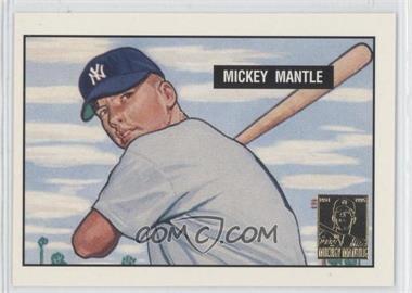 1996 Topps Mickey Mantle Commemorative #1 - Mickey Mantle (1951 Bowman)