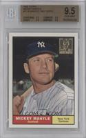 Mickey Mantle 1961 Topps [BGS 9.5]