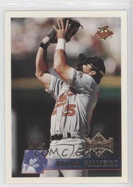 1996 Topps Team Topps - Wal-Mart Baltimore Orioles #395 - Rafael Palmeiro