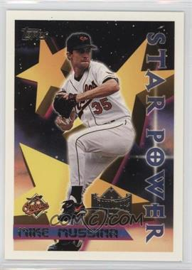 1996 Topps Team Topps - Wal-Mart Baltimore Orioles #65 - Mike Mussina