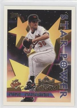 1996 Topps Team Topps Wal-Mart [106199] #65 - Mike Mussina