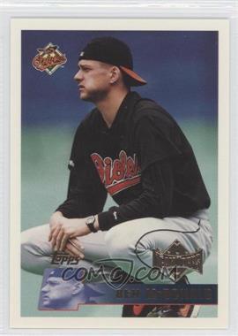 1996 Topps Team Topps Wal-Mart Baltimore Orioles #320 - Ben McDonald