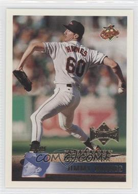 1996 Topps Team Topps Wal-Mart Baltimore Orioles #354 - Jimmy Haynes