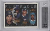 Vladimir Guerrero, Andruw Jones, Brian Banks, Billy McMillon [BGS 8.5]