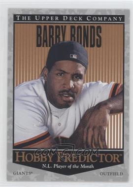 1996 Upper Deck - Hobby Predictor #H33 - Barry Bonds