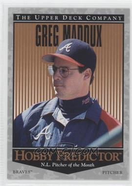 1996 Upper Deck - Hobby Predictor #H44 - Greg Maddux