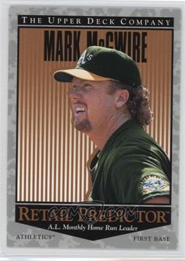 1996 Upper Deck - Retail Predictor #R5 - Mark McGwire