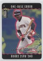 Barry Bonds (One-Base Eroor)