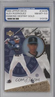 1996 Upper Deck Diamond Destiny Gold #DD38 - Alex Rodriguez [ENCASED]