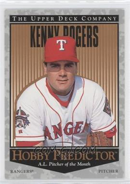 1996 Upper Deck Hobby Predictor #H18 - Kenny Rogers