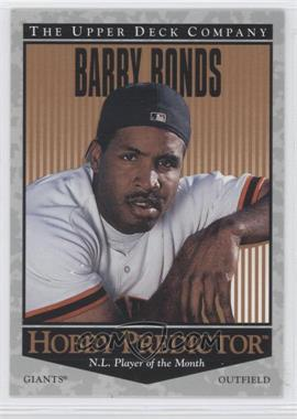 1996 Upper Deck Hobby Predictor #H33 - Barry Bonds