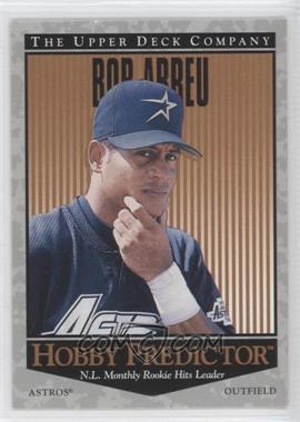 1996 Upper Deck Hobby Predictor #H51 - Bobby Abreu