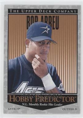 1996 Upper Deck Hobby Predictor #H51 - Bobby Abreu