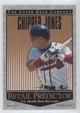 1996 Upper Deck Retail Predictor #R34 - Chipper Jones