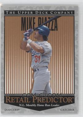 1996 Upper Deck Retail Predictor #R36 - Mike Piazza