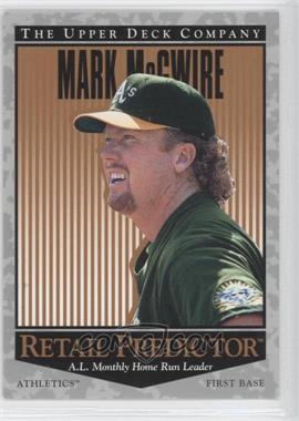 1996 Upper Deck Retail Predictor #R5 - Mark McGwire