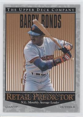1996 Upper Deck Retail Predictor #R55 - Barry Bonds