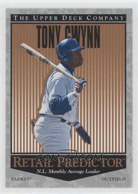 1996 Upper Deck Retail Predictor #R57 - Tony Gwynn