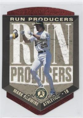 1996 Upper Deck Run Producers #RP12 - Mark McGwire