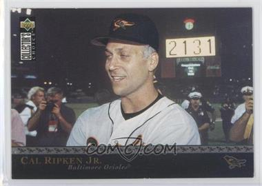 1996 Upper Deck The Ripken Collection Retail Factory Set Jumbo #1 - Cal Ripken Jr.